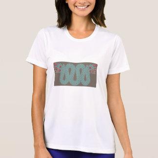 Aztec Serpent Ladie's Micro Fiber T-Shirt