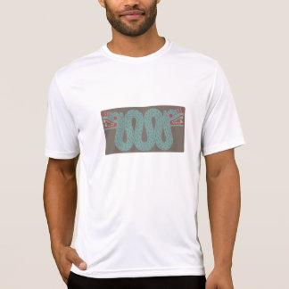 Aztec Serpent Men's Micro Fiber T-Shirt