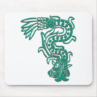 Aztec Serpent Mouse Pad