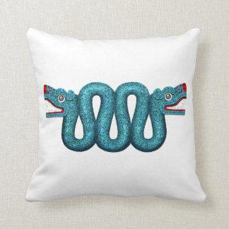 Aztec Serpent Pillow