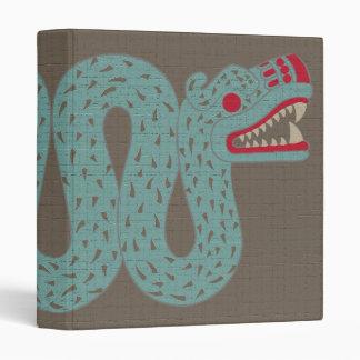 Aztec Serpent School Binder Folder