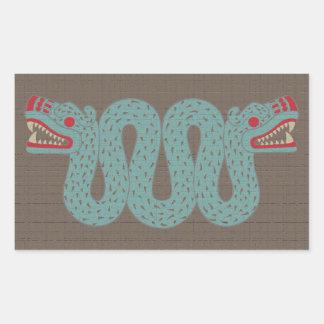 Aztec Serpent Stickers