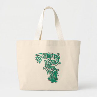 Aztec Serpent Tote Bags