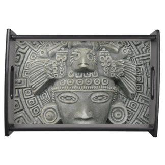 Aztec Serving Tray