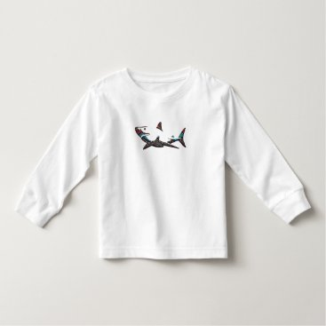 Aztec Themed Aztec Shark Toddler T-shirt