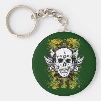 Aztec-Skull Keychains