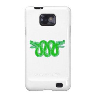 Aztec Snake Huitzilopochtli Samsung Galaxy SII Cases