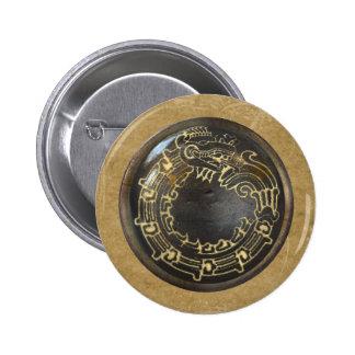 Aztec Snake Pinback Button