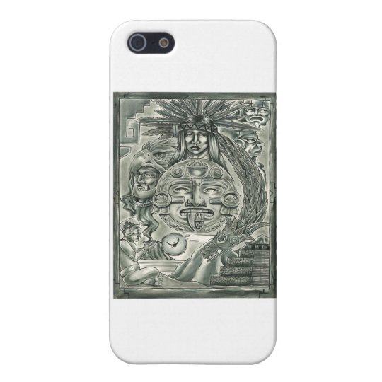 Aztec Spirit iPhone SE/5/5s Case