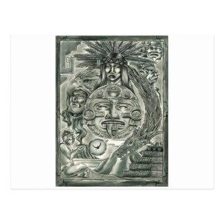 Aztec Spirit Postcard