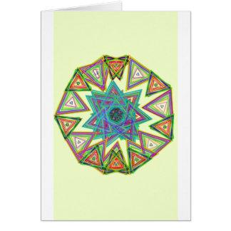Aztec star card