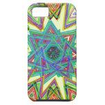 Aztec star iPhone 5 case