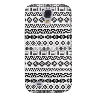 Aztec Style Pattern II - Monochrome Samsung S4 Case