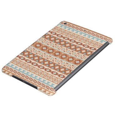 Aztec Themed Aztec Stylized Pattern Blue Cream Terracottas Cover For iPad Air
