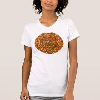 Aztec Sun Calendar Shirt