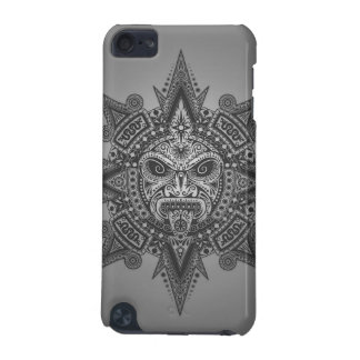 Aztec Sun Mask – grey iPod Touch (5th Generation) Cases