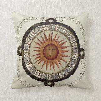 Aztec Sun Pillow Cushion - Pikunikku