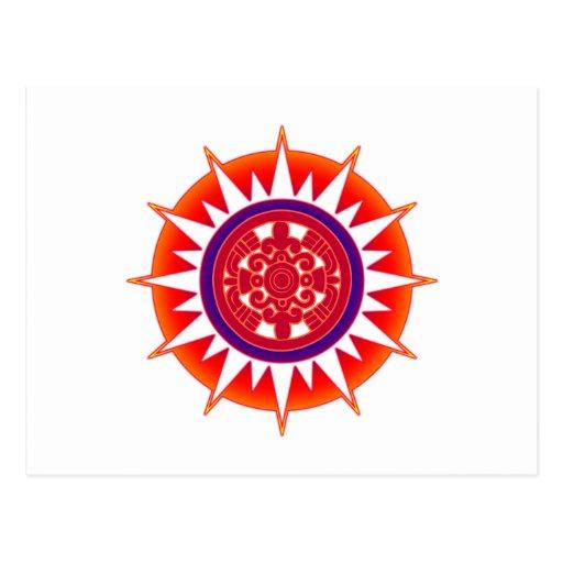Aztec Sun Post Cards