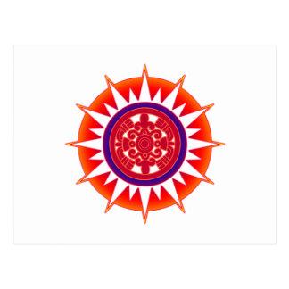 Aztec Sun Postcard