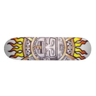 Aztec Sun Skateboard