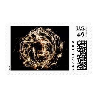 Aztec Sun Stamp