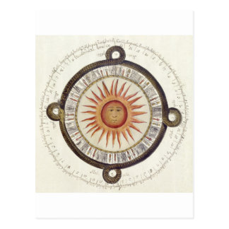 Aztec Sun Stone Post Cards