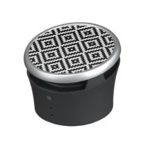 Aztec Symbol Block Ptn Black & White I Speaker