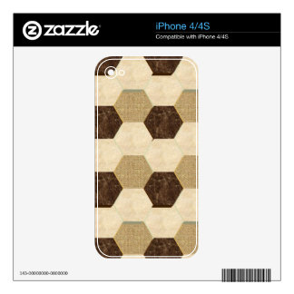 Aztec Tiles Decal For The iPhone 4