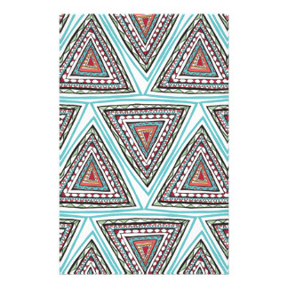 Aztec Triangles Stationery