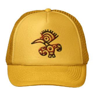 Aztec tribal bird hat