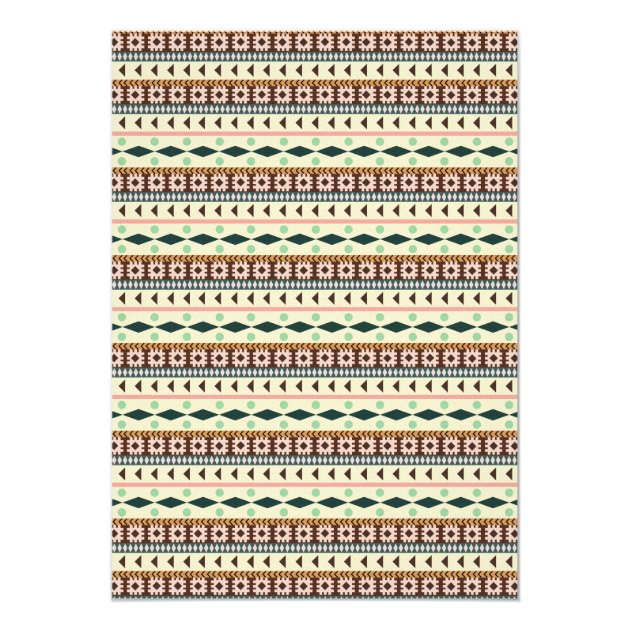 aztec tribal fox lion tiger baby shower card | zazzle, Baby shower invitations