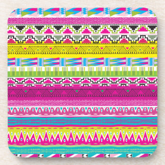 Aztec tribal Hipster Coasters