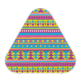 Aztec Tribal in Vivid Colors Bluetooth Speaker