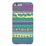 Aztec Tribal Pattern Barely There iPhone 6 Case