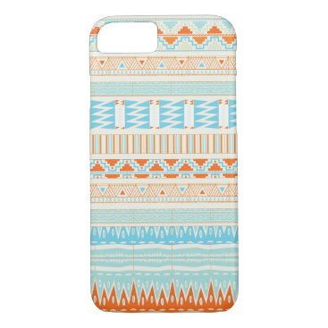 Aztec Themed Aztec tribal pattern iPhone 7 case