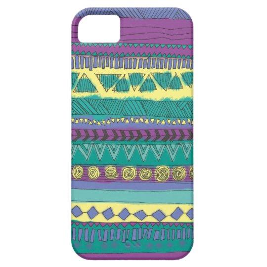 Aztec Tribal Pattern iPhone SE/5/5s Case