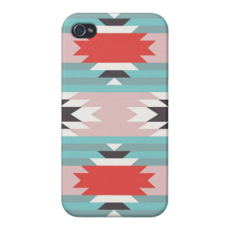 Aztec Tribal Pattern Native American Prints Cover For iPhone 4
