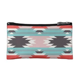 Aztec Tribal Pattern Native American Prints Makeup Bag
