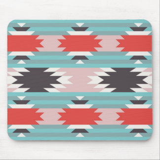 Aztec Tribal Pattern Native American Prints Mouse Pad