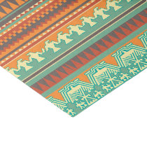 Aztec tribal pattern party box tissue paper
