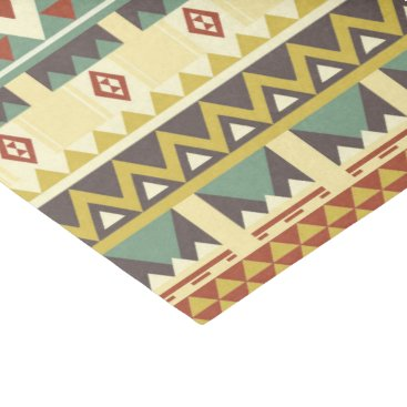 Aztec Themed Aztec tribal pattern party tissue tissue paper