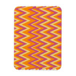 Aztec Tribal ZigZag Rectangle Magnets