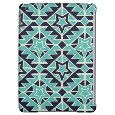 Aztec Themed Aztec turquoise and navy cover for iPad air