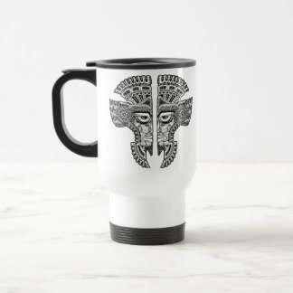 Aztec Twins Travel Mug