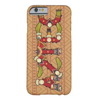 Aztec typographic Patterned iPhone 6/6s case Barely There iPhone 6 Case