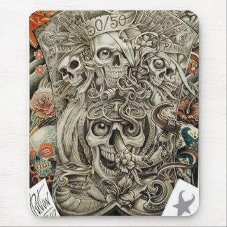 aztec war mouse pad