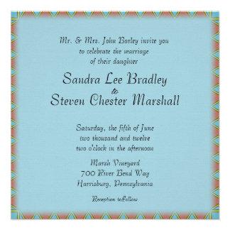Aztec Wedding Invitation