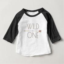 Aztec Wild One | First Birthday Baby T-Shirt