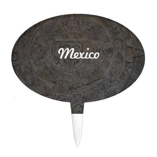 Azteca Decoración De Tarta