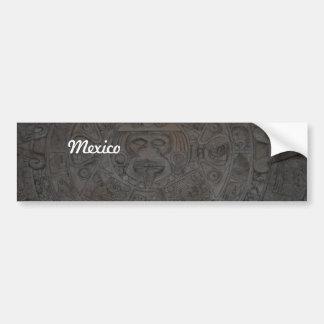 Azteca Pegatina De Parachoque
